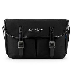 [핍스] PEEPS hipster messenger bag(black)