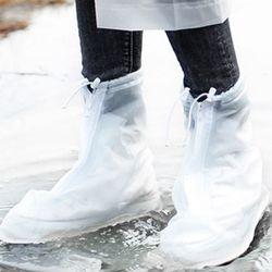 갓샵 휴대용 레인 신발 비닐 방수 커버 덮개