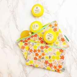 FLOWER PATTERN POUCH ver.4 (Small)