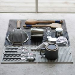 휴바트 접이식 실리콘 드라잉 테이블 매트