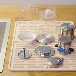 마리슈타이거 접이식 실리콘 드라잉 테이블 매트