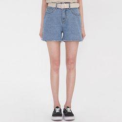 slight cutting half pants (s m l)