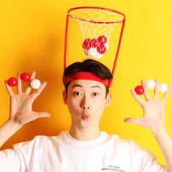 미니 농구게임 모자