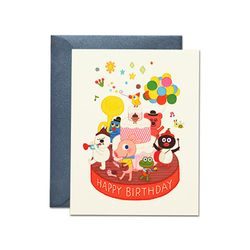 Friends Cake AR Card