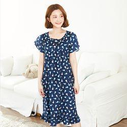 페얼 레이온 드레스