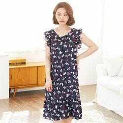 칵티 레이온 드레스