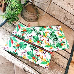 TROPICAL PATTERN POUCH ver.1 (2 type)