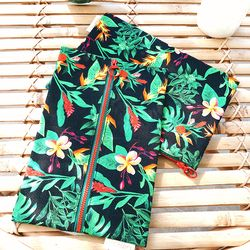TROPICAL PATTERN POUCH ver.2 (2 type)