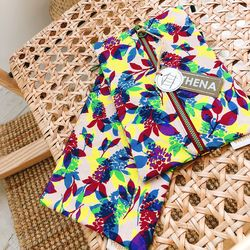 TROPICAL PATTERN POUCH ver.4 (2 type)