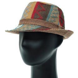 [더그레이]NMF02.에스닉니트 페도라 중절모 남성 모자