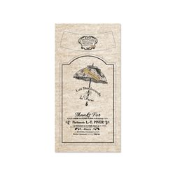 아트지 와인라벨 스티커 Umbrella(엄브렐라)