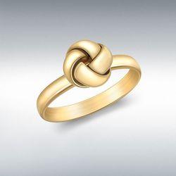 [런던골드 9ct Gold] 4 Way Knot Ring