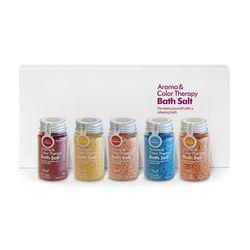 Aroma Spa Bath 국산 바스 솔트 100g 5종 과일세트B