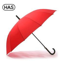 [HAS]헤즈 12살 블랙 자동 장우산 HS1AS1258RED
