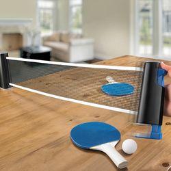 ENJOY TABLE TENNIS 원터치 간이네트 탁구용품 set
