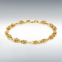 [런던골드 9ct Gold] Twist Byzant Bracelet