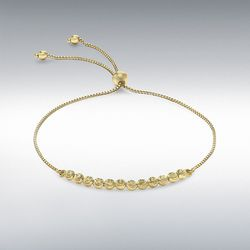 [런던골드 9ct Gold] Ball & Chain Bracelet