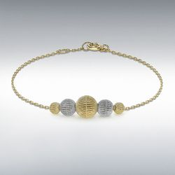 [런던골드 9ct Gold] Lace StyleBracelet