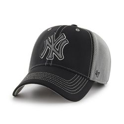 47브랜드 MLB모자 뉴욕 양키즈 블랙그레이메쉬