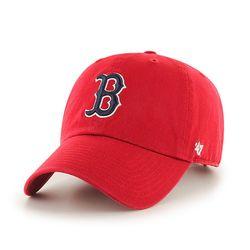 47브랜드 MLB모자 보스톤 레드삭스 레드