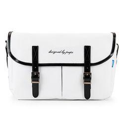 [핍스] PEEPS hipster messenger bag(white)