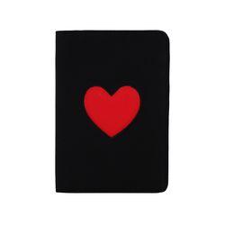 [라템] 하트찜콩 여권지갑 블랙(AG2E8606OABB)