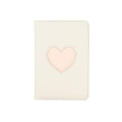 [라템] 하트찜콩 여권지갑 아이보리(AG2E8606OAII)