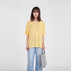 layer linen tee (5colors)