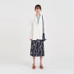 crease linen jacket (2colors)