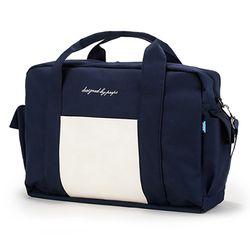 [핍스] PEEPS cargo boston bag(navy)