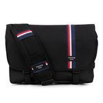 [핍스] PEEPS essential messenger bag(stripeblack)