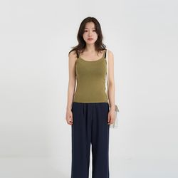 color knit sleeveless (6colors)