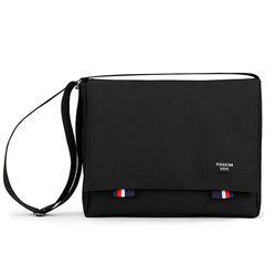 [핍스] PEEPS bridge messenger bag(black)