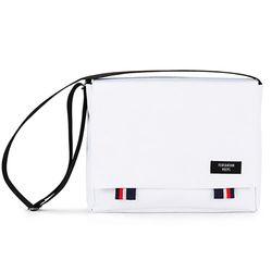 [핍스] PEEPS bridge messenger bag(white)