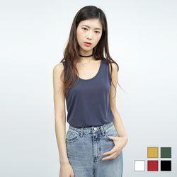 2160 루팡 슬리브리스 티셔츠 (5colors)
