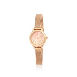 쁘띠 큐빅 메쉬 시계 핑크(AG2G8506MAPX)