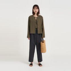coco linen cardigan set (4colors)
