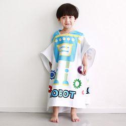 [엔비] 로봇 아동비치가운 비치타올 비치타월