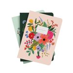 Garden Party Stitched Notebook