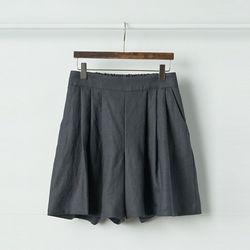 Linen Flutter Shorts