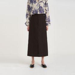 linen h-line skirt (2colors)