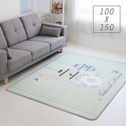 주노데코 매쉬 카나리아 카페트 100x150cm
