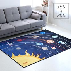 주노데코 태양계 카페트 150x200cm