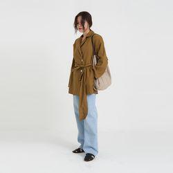 linen lap jacket (4colors)