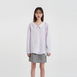 collar off blouse (3colors)
