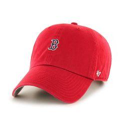 47브랜드 MLB모자 보스톤 레드삭스 레드 미니로고