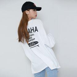 [로코식스] 마카하 롱슬리브 티셔츠