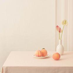 테이블보 No.2 - Peach