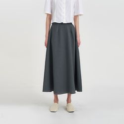 stitch flare skirt (2colors)