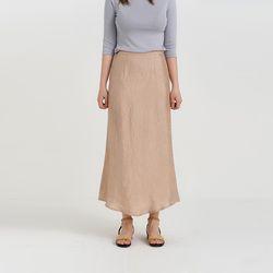 satin long skirt (3colors)